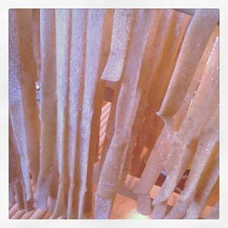 3) pasta drying