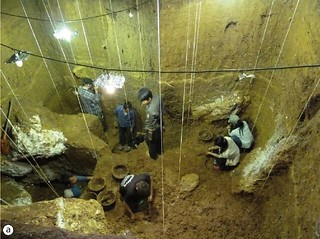 Cave of the monkey excavation