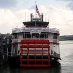 New Orleans - Mississippi River - Steamboat Natchez - Docked (2)