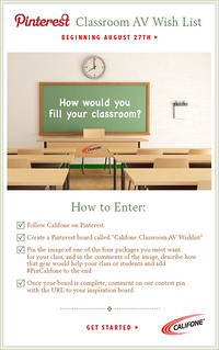 Califone Classroom AV Wishlist