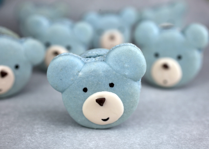 Blue Bear Macarons