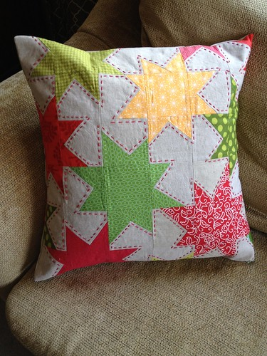 Sparkle Punch Pillow