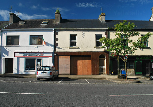 Derelict Shop, Main Street, Swinford