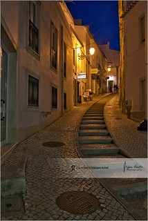 Street of Lagos @ night | Lagos, Portugal
