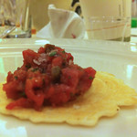 Nicky Farms water buffalo tartare