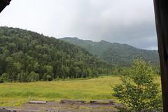 ナデッ窪登山口付近・沼尻