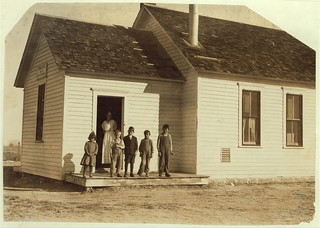 Only 5 pupils present out of about 40 expected when beet work is over. School #1, Dist. 3, Ft. Morgan, Colo. Oct. 26/15 (LOC)