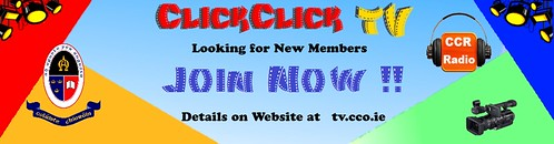 ClickClick TV  Advertise Website Header [Join Now]