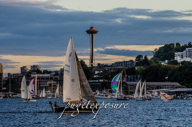 Lake Union Sunset Sail