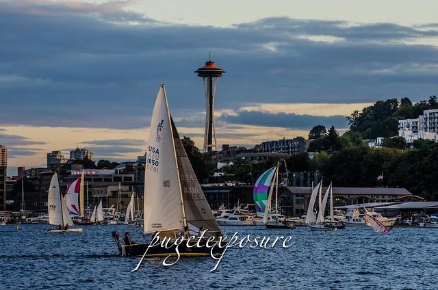 Lake Union Sunset Sail