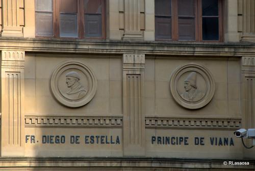Fray Diego de Estella y el Príncipe de Viana.
