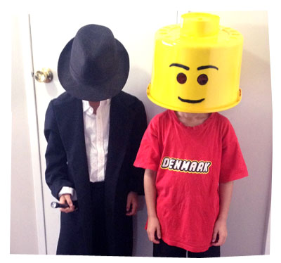 The Lego Man Costume