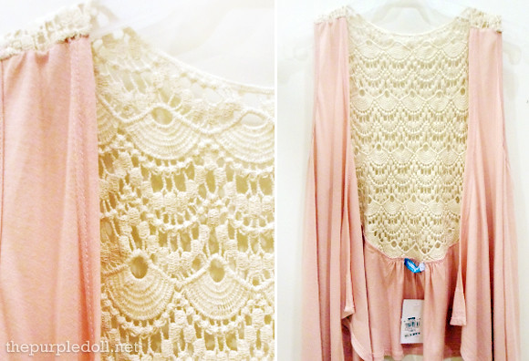 Pink Laced Vest by Seventeen P699