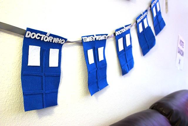 22. TARDIS Banner