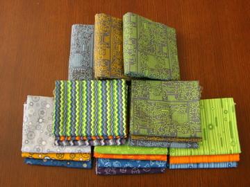 Mastermind Fabric 16 FQs