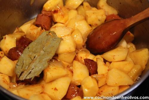Patatas guisadas con chorizo (7)
