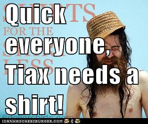 Tiax Needs a Shirt!