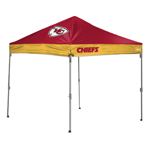 Kansas City Chiefs TailGate Canopy/Tent  sc 1 st  Tailgatorz & Kansas City Chiefs Tailgate Canopy/Tent Easy Up Shelter Design for ...