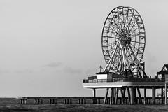 Ferris Wheel On The Galveston Pleasure Pier - Spinning Over The Gulf