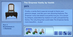 The Empress Vanity by Vanite