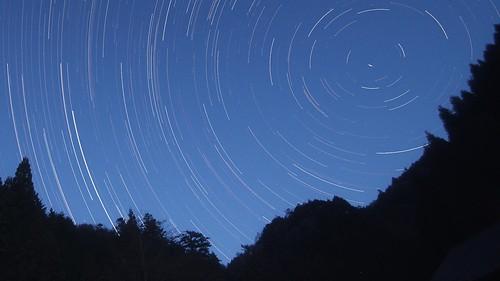 star trail