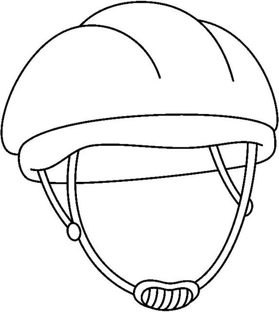 bicycle helmet coloring page - photo #32