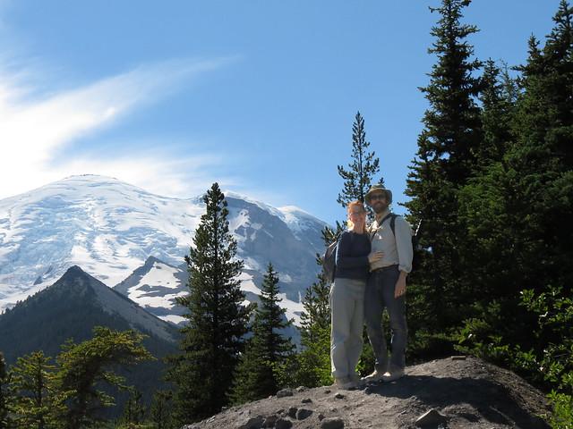 Kim & Jeff Near Emmons Glacier