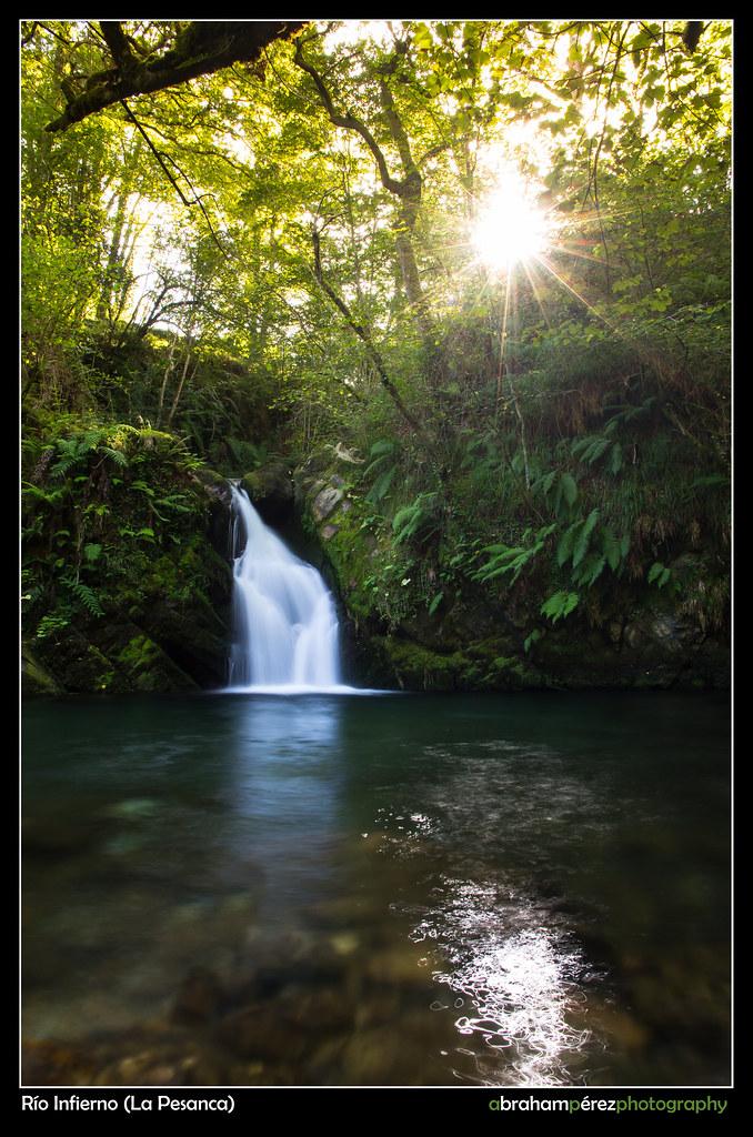 Cascada en La Pesanca*
