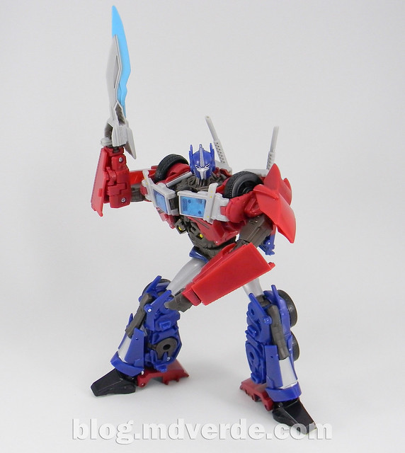 Transformers Optimus Prime Voyager - Prime First Edition - modo robot