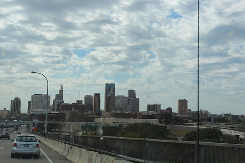 Day 37: Driving into St. Paul, Minnesota.
