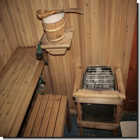 Sauna plans flickr photo sharing for Make your own sauna at home