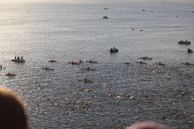 Ironman Wisconsin 2012 Swim Start