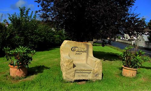 Smithborough Stone Chair