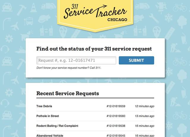 311 Service Tracker