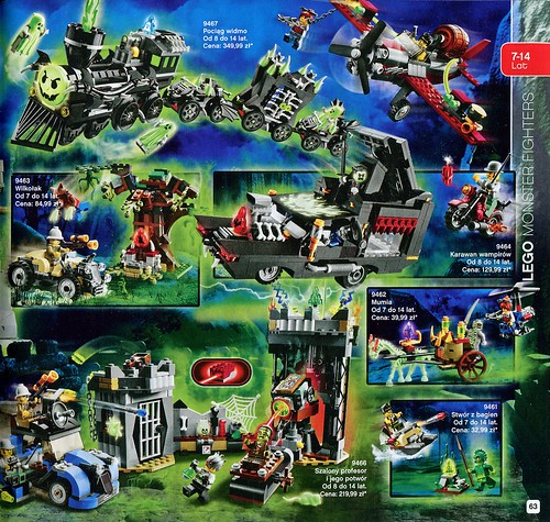 Katalog 2012: Monster Fighters
