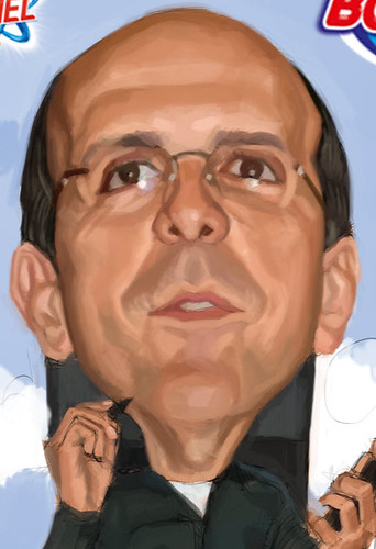 digital caricature for P&G - 3