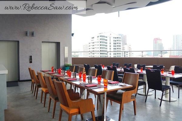 Aloft Bangkok – Sukhumvit 11- Crave - Dining-005