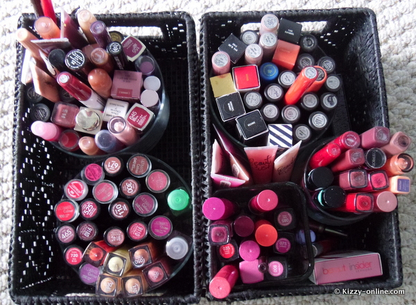lipstick lipsticks mac storage collection organization