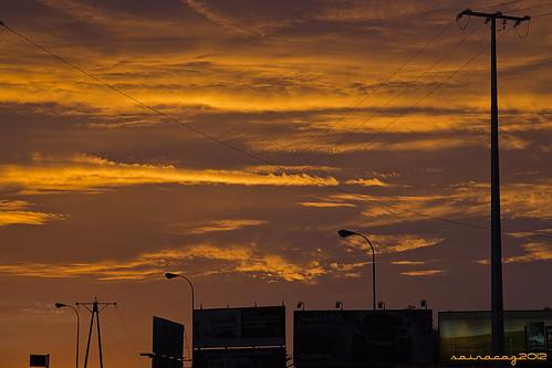 312/365 Cielo naranja by sairacaz