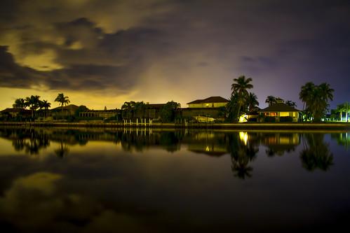 water night florida cloudy refelctions marcoisland longexposures marcoislandflorida 30secondexposures