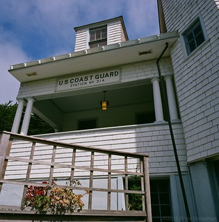 Coast Guard House Historic Inn - The City of Point Arena - Mamiya 6 - 50mm F/4 - Pro 160S