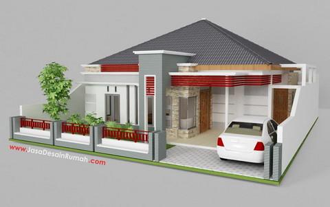 desain rumah kayu sederhana 2 dhertiens by dhertiens