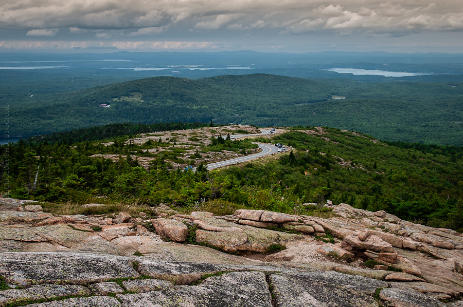 Cadillac Mountain trail