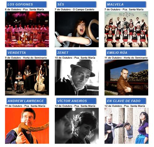 Lugo 2012 - San Froilán - artistas 2