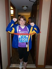 Heading Out to Walk a Half-Marathon for Team in Training (Canada)