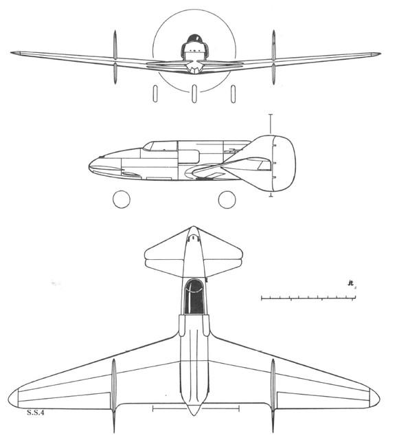 Ambrosini SS.4 3V