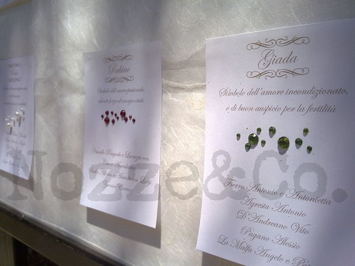 Matrimonio Tema Pietre Preziose : Nozze co tutti ai posti