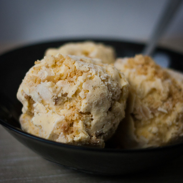 Apple pie ice cream | Flickr - Photo Sharing!