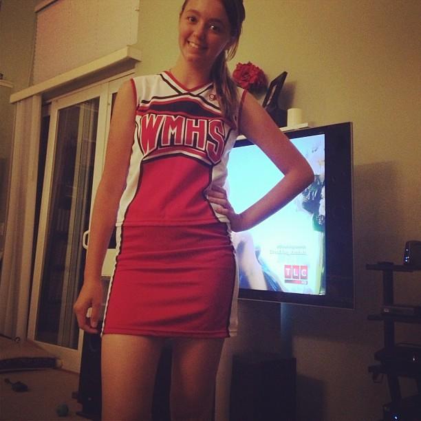 Cassidyu0027s Halloween Costume: Brittany S Pierce. #glee #Hal ...