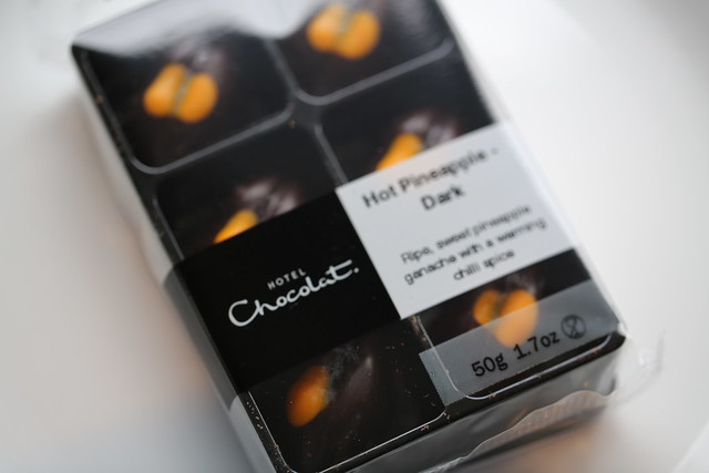 Hotel Chocolat - Hot Pineapple truffle